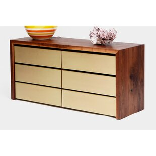 Sqm 6 Drawer Double Dresser
