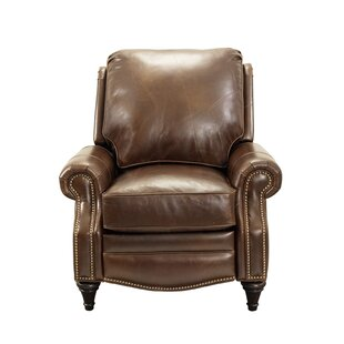 Avery Leather Manual Recliner Barcalounger