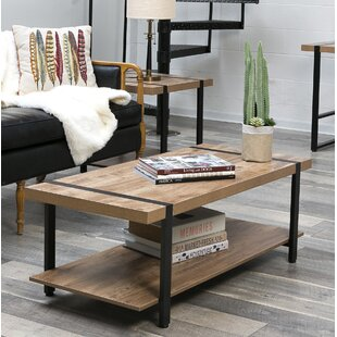 Low priced Rainey Coffee Table ByUnion Rustic