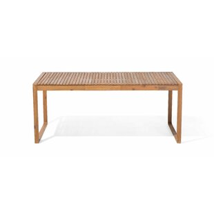 Harpster Solid Wood Dining Table by Charlton Home