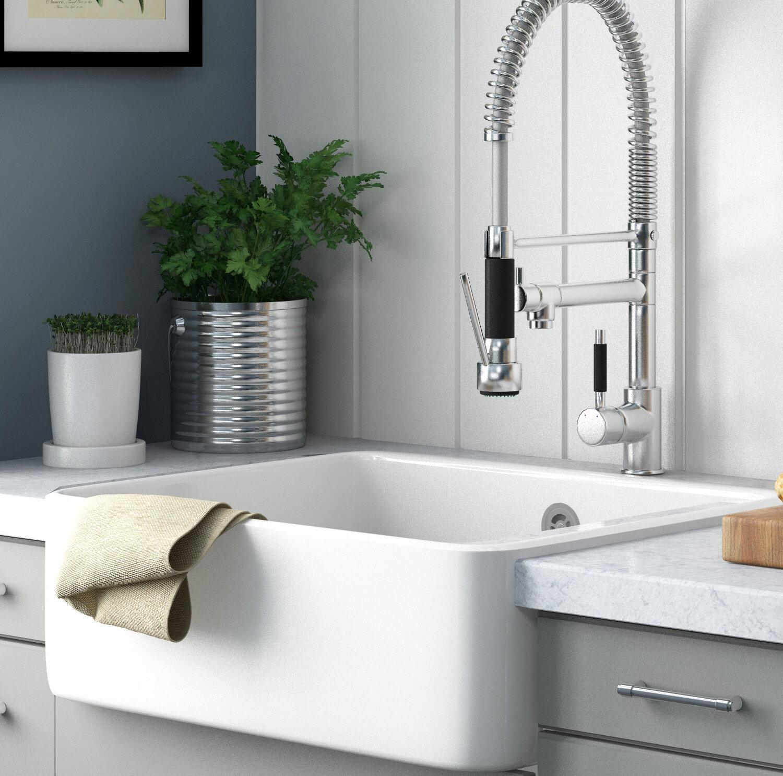 Villeroy & Boch Farmhouse Single Bowl Kitchen Sink & Reviews ...