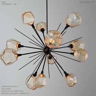 Davila 42 Light Sputnik Modern Linear Chandelier By Everly Quinn On Internet