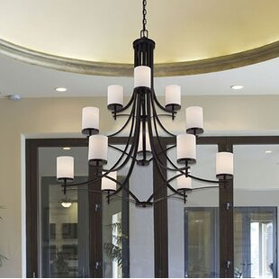 Birch Lane™ Foxall 12-Light Shaded Chandelier