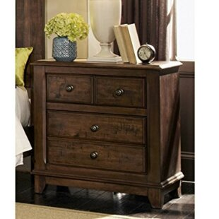 Samuels Wood 4 Drawer Nightstand by Loon Peak Design