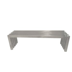 Lexter Metal Bench by Pangea Home