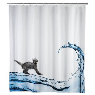 Cat Anti-mold Shower Curtain By Wenko Inc