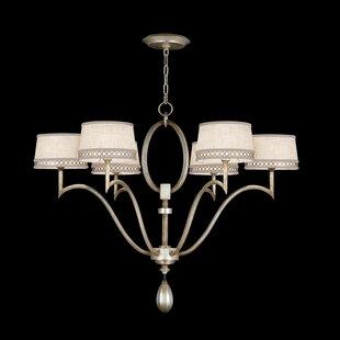 Fine Art Lamps Allegretto 6-Light Shaded Chandelier