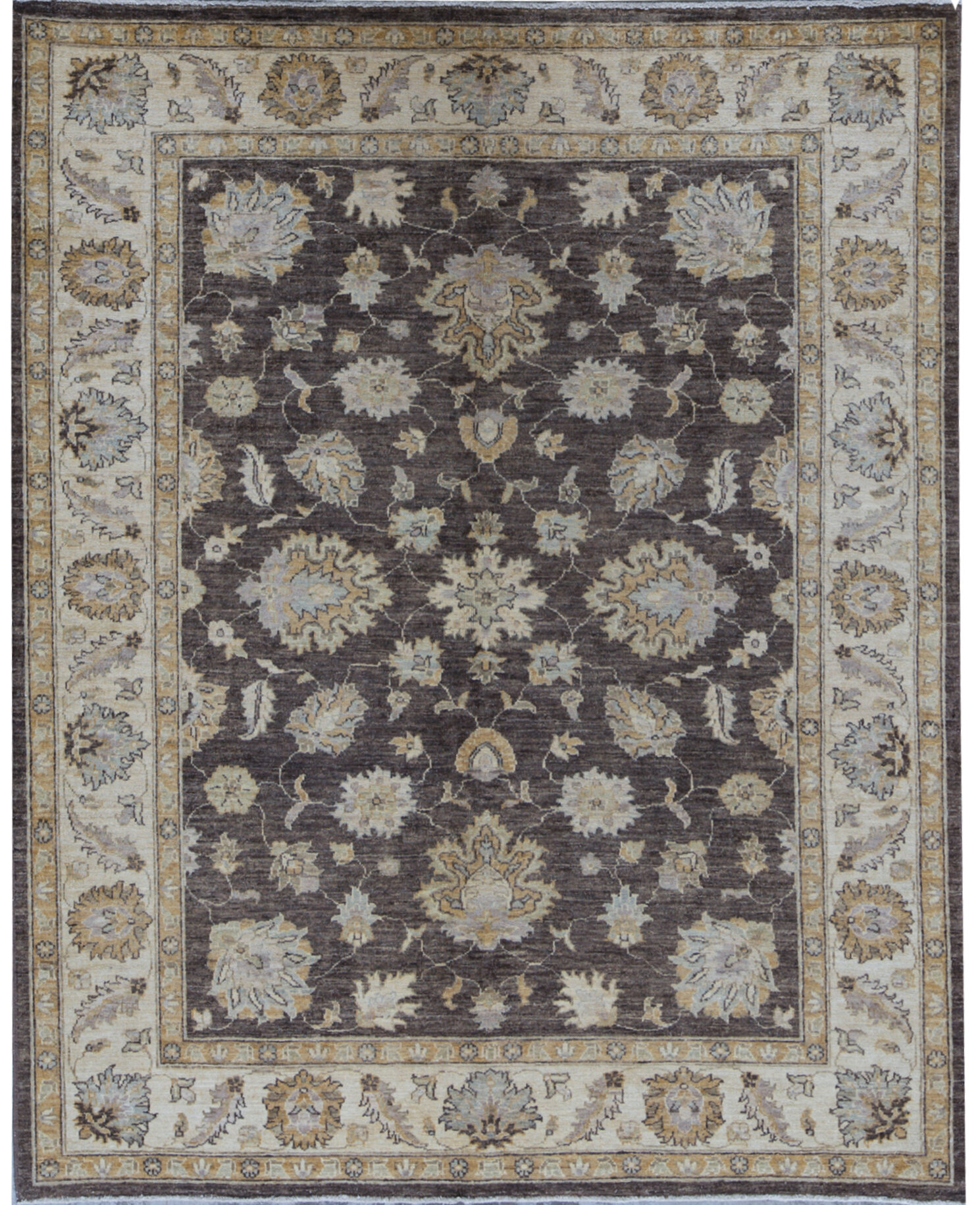 Bokara Rug Co Inc Ziegler Oriental Hand Knotted Wool Brown Beige Area Rug Wayfair