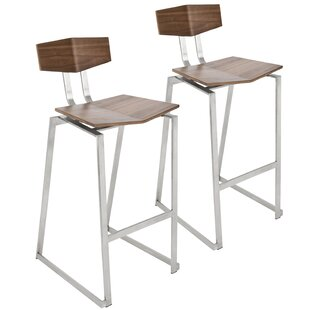 Needham Bar & Counter Stool (Set of 2) Union Rustic