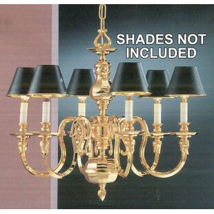 Classic Lighting Williamsburg 6-Light Cha..