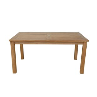 Montage Solid Wood Dining Table by Anderson Teak