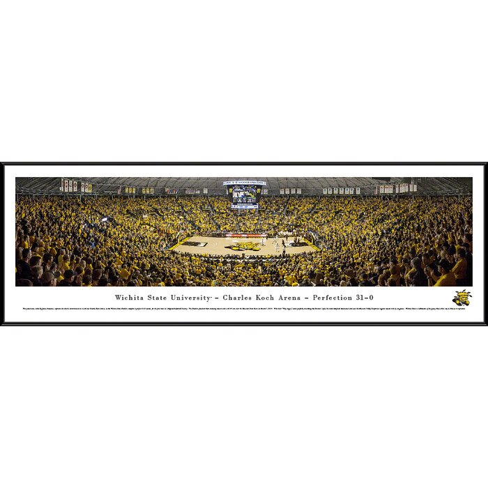NCAA Wichita State University - Charles Koch Arena by James Simmons on koch arena seating guide, koch arena seating chart, koch arena map, koch arena events,