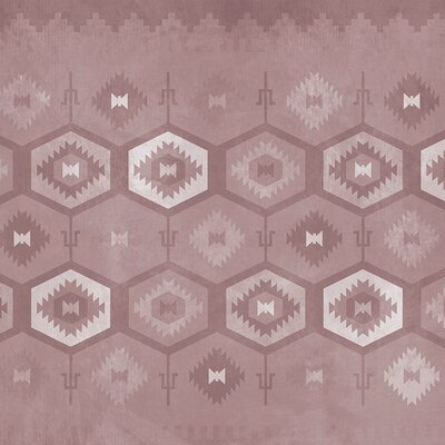 Coordonne Carpet Wallpaper Roll Colour: Pink