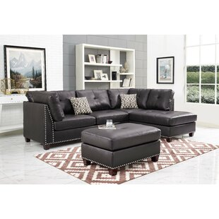 Ebern Designs Coelho Sectional with Ottoman