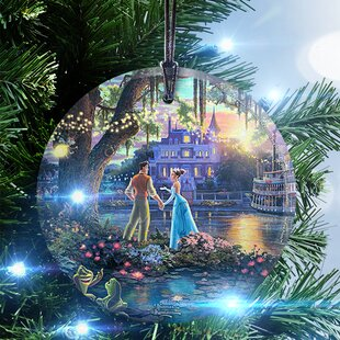 disney the princess and the frog hanging shaped ornament - Disney Princess Outdoor Christmas Decorations