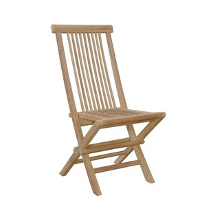 Bristol Folding Teak Patio Dining Chair by Anderson Teak Today Only Sale