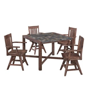 Lakewood 5 Piece Dining Set by Millwood P..