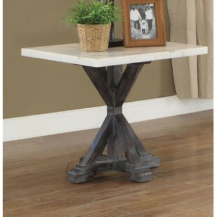 Muldoon End Table by Gracie Oaks
