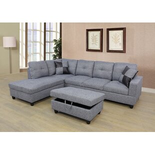 Ebern Designs Caliche Modular Sectional w..