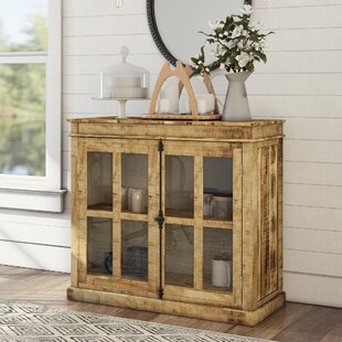 Gracie Oaks Khalifa 2 Door Cabinet