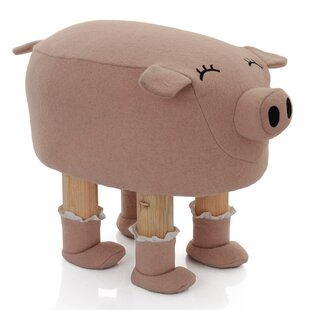 Lou Pig Kids Stool By Harriet Bee