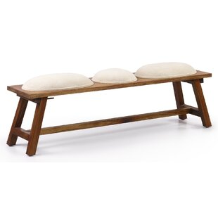 Guildhall Wood Dining Bench By Bay Isle Home