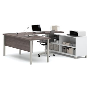 Wrought Studio Pham U-Shape Desk Office Suite