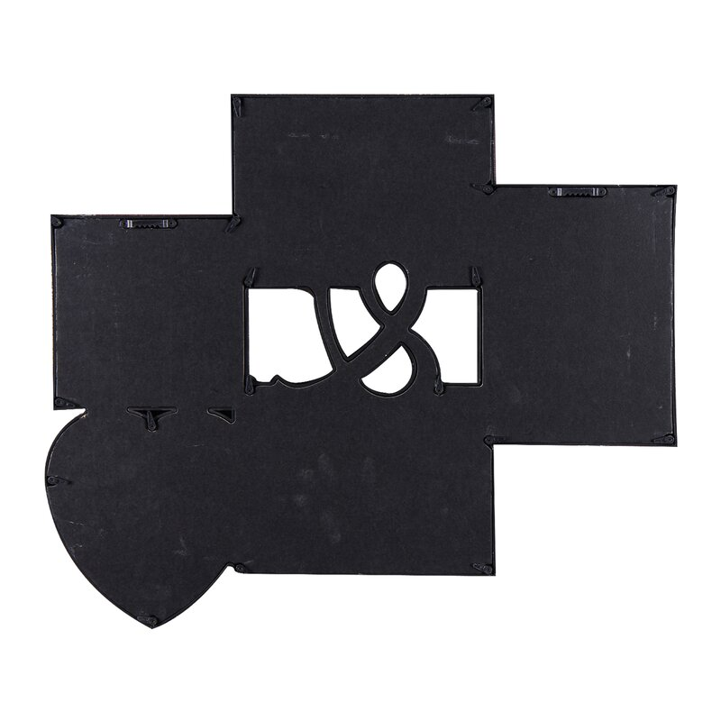AdecoTrading 5 Opening Decorative Wall Hanging Collage Ampersand ...