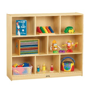 Superbe 8 Compartment Cubby With Casters