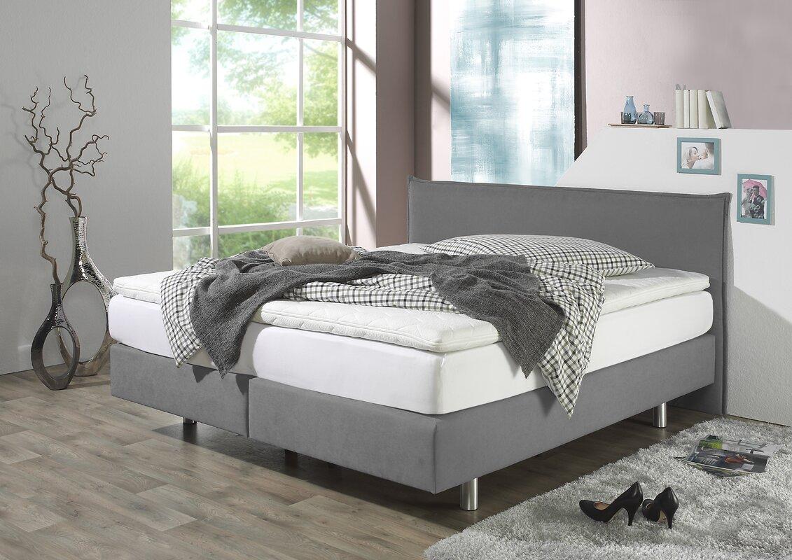 home loft concept boxspringbett perth bewertungen. Black Bedroom Furniture Sets. Home Design Ideas