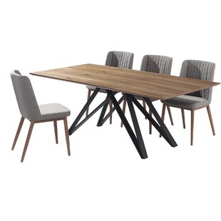 Bridgwater 5 Piece Dining Set (Set of 5) by Corrigan Studio