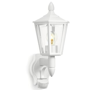 1 Light Outdoor Wall Lantern With Sensor By Steinel