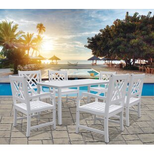 Darby Home Co Mahler 7 Piece Dining Set