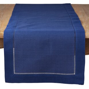 Carino Classic Hemstitched Trim Table Runner