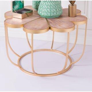 Aktepe Coffee Table by Bungalow Rose SKU:ED909635 Information