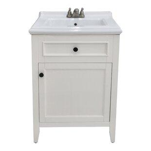 Gessner 24 Single Bathroom Vanity Set by Three Posts