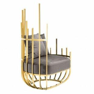 Santorini Art Deco Barrel Chair