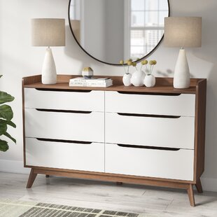 Cravens 6 Drawer Double Dresser