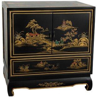 1 Drawer Nightstand by Oriental Furniture