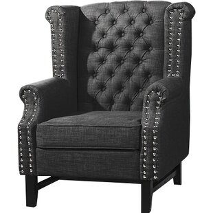 Alcott Hill Babylon Wingback Chair