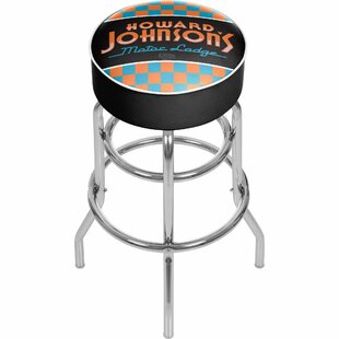 Howard Johnson 31 Swivel Bar Stool by Trademark Global No Copoun