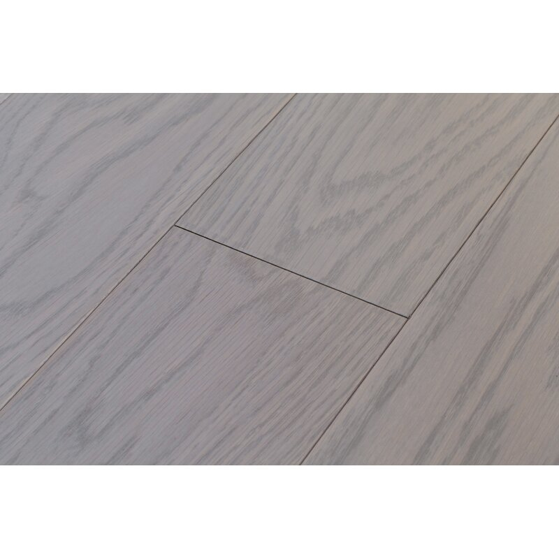 Rivers Edge 5 Engineered White Oak Hardwood Flooring In Washout Grey