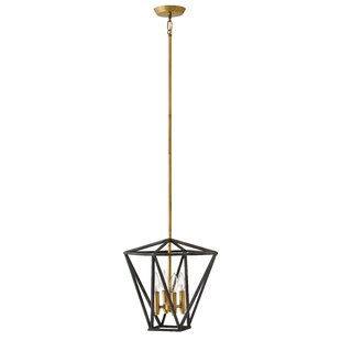 Theory 4-Light Geometric Chandelier by Hinkley Lighting
