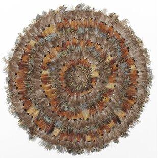 Mullica Pheasant Park Round Decorative Placemat (Set of 6)
