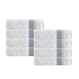 Unique Turkish Cotton Hand Towel (Set of 8)