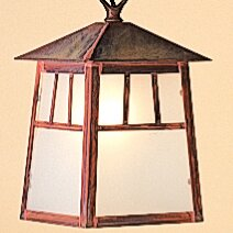 Raymond 1-Light Outdoor Hanging Lantern By Arroyo Craftsman Outdoor Lighting