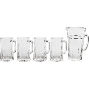 Barware 5 Piece Beer Mug Set