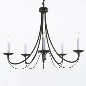 Underwood 5-Light Candle-Style Chandelier