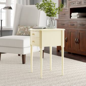 Winston Porter Middlebrooks End Table With Storage Reviews Wayfair