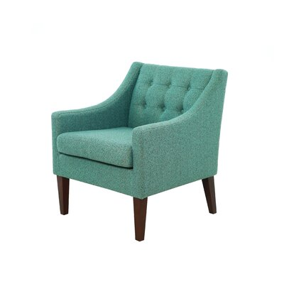 Aileen Armchair Upholstery Color: Nubby green by Alcott Hill